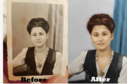 I will restore old photos and color them 9 - kwork.com