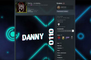 Steam profile design 6 - kwork.com