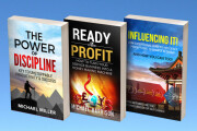 I will do all kind of professional and creative book cover design 9 - kwork.com