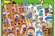 8,000+ Cartoon Character Vectors 6 - kwork.com