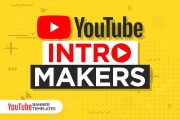 I will edit a creative custom youtube intro for your channel 5 - kwork.com