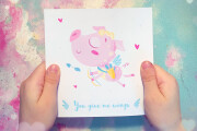 I will create cute postcard or poster illustrations 13 - kwork.com