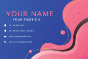 I will Design Business Card, Letterhead, Employee Card and Stationery 12 - kwork.com