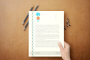 I will design professional stationery items business card letterhead 15 - kwork.com
