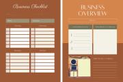 Design creative planners or journal or calendar 14 - kwork.com