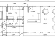 DIALux modeling and light calculation for rooms and buildings 7 - kwork.com