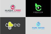 I will design attractive modern flat minimalist business logo 6 - kwork.com