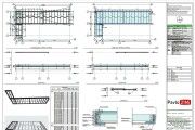 Construction Drawings for Wooden prefab House with Material List 12 - kwork.com