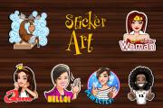 Sticker art 5 - kwork.com