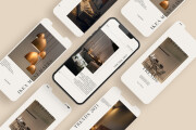 I will design instagram post and stories templates 6 - kwork.com