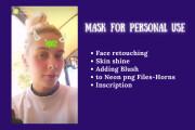 Filter or Mask For Instagram 8 - kwork.com