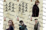Playing cards with movie characters 12 - kwork.com