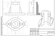 I will make drawings in Autodesk AutoCAD 9 - kwork.com