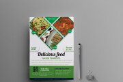I will design, food menu, restaurant menu, price list 12 - kwork.com