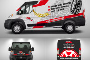 I will design a Premium Quality Vehicle Wrap and Advertising 9 - kwork.com