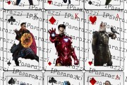 Playing cards with movie characters 8 - kwork.com