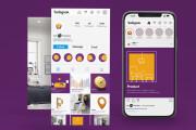 Classy Designed Instagram Page 5 - kwork.com