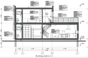 Construction Drawings for Wooden prefab House with Material List 13 - kwork.com