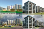 Post-processing of architectural renders 5 - kwork.com