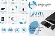 Cool instagram design for your business 6 - kwork.com