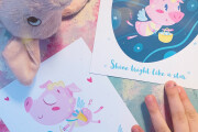 I will create cute postcard or poster illustrations 12 - kwork.com