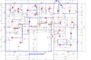 Private house, cottage electrical design 8 - kwork.com