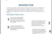 I will write and design crypto white paper, ieo, ico, white paper 5 - kwork.com