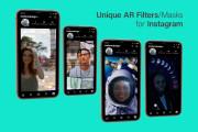 AR Masks, Filters for Instagram 9 - kwork.com