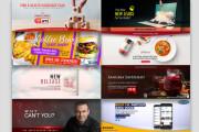 I will design your youtube, facebook and website banner 6 - kwork.com