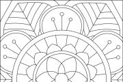 I will give you 1950 premium mandala coloring page 15 - kwork.com