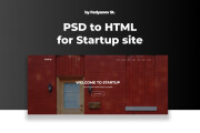Website layout from PSD, Figma to HTML 4 - kwork.com