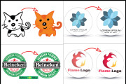 Any image or logo vector tracing, recreate logo and raster to vector 6 - kwork.com