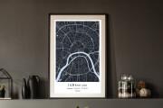 Decorative map of your city 4 - kwork.com