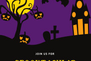 I will design halloween cards, flyers, brochures, posts 7 - kwork.com