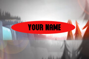 Create a header for YouTube channel 12 - kwork.com