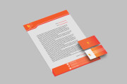 I will design professional stationery items business card letterhead 12 - kwork.com