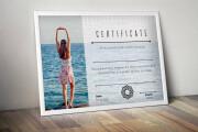 Creating a certificate 13 - kwork.com