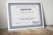 Creating a certificate 11 - kwork.com