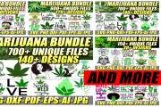 I will give 3000 organic medical cigarette svg bundle 4 - kwork.com