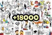 I will provide 18000 clip art png and svg design bundle 4 - kwork.com
