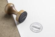 I will create stamp, press form 7 - kwork.com