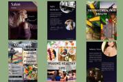 I will create a workbook, lead magnets, PDF documents 11 - kwork.com