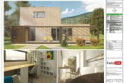 Construction Drawings for Wooden prefab House with Material List 9 - kwork.com