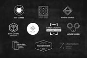 I will Do Modern Minimalist Logo design for your business 10 - kwork.com