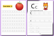I will make handwriting practice letters tracing workbook for kids 15 - kwork.com