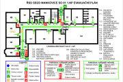 Emergency evacuation plan, map 15 - kwork.com