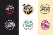 I will create a graphic logotype in lettering style 12 - kwork.com