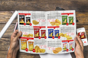 Menu, catalog and magazine design 8 - kwork.com