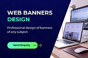 Web banners design 6 - kwork.com