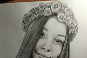 Drawing a portrait 4 - kwork.com